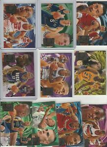 90's COMPLETE INSERT SET 1-10 1994-95 FLEER FLAIR WAVE OF THE FUTURE HILL KIDD