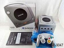 Japanese Boxed Nintendo Gamecube Platinum Console Silver System Japan Import CIB