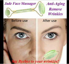 JADE Face Massage Roller Beauty Tool Facial Eye Neck Body Anti Ageing
