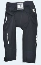 Boardman womens capri cycling reflective breathable black size 10    29 - 31 ""