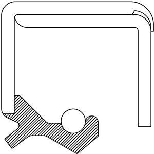 Manual Trans Main Shaft Seal-Oil Seal National 410085