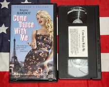 Come Dance With Me (VHS, 1959, Widescreen - Clamshell) Brigitte Bardot