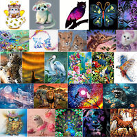 5D Animals Diamond Painting Full Drill Embroidery DIY Craft Cross Stitch Kits