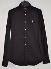 NWT W's Polo Ralph Lauren, Slim-Fit Stretch Cotton KENDALL Shirt. Size 12 $98.50