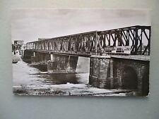 Ansichtskarte Mannheim Ludwigshafen Rheinbrücke (vor 1945 ??) Straßenbahn