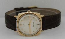 Vinatge Hamilton Hand-Winding Gold Filled Silver Dial Circa 1960s Watch