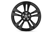 "Original SKODA aloy wheel TRINITY BLACK 7.0J x 17"" 5J0071497A FL8"