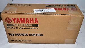 OEM Yamaha 703 Side Mount Remote Control Part# 703-48207-23-00