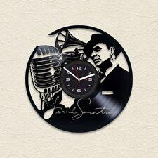 Frank Sinatra Retro Vinyl Record Wall Clock Vintage Handmade Gift For Woman