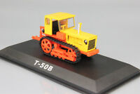 T-50 Caterpillar Tractor Soviet Farm Vehicle USSR 1962 Year 1:43 Scale HACHETTE