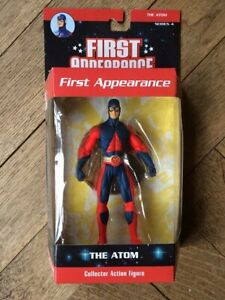 DC DIRECT FIRST APPEARANCE Series 4 THE ATOM RYAN CHOI figure, Mint, Rare in UK