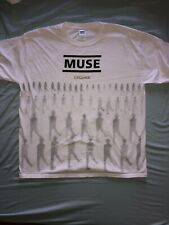 MUSE t shirt size XL shoegaze british rock smashing pumpkins coldplay radiohead