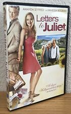 LETTERS TO JULIET (DVD, 2010) Region 1 ~ DISC & COVER ART ARE FLAWLESS~SEE PICS
