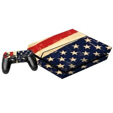 USA Flaggen Designfolie für Playstation 4 Konsole Sticker Full Body Aufkleber