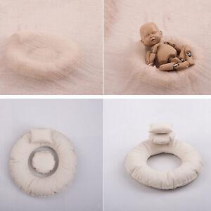 Newborn Photography Prop Baby Posing Pillow Photo Prop Basket Photoshoot