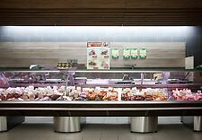 Serve Over Counter 4.0m Display Fridge Meat Chiller