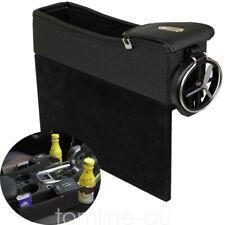 Car Seat Gap Filler Pocket Organizer Storage Box Crevice Catcher Coin Cup Holder