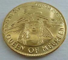 NEW Daenerys Targaryen Golden Mark Coin Game of Thrones Solid Brass Shire Post