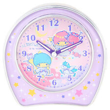 2016 Sanrio Little Twin Stars Rhythm Alarm Clock~ NEW Free Shipping