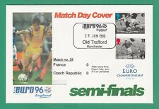 FOOTBALL  -   STAMP  COVER  ENVELOPE  FOR  EURO  96  -  MATCH  NO.  29  -  1996