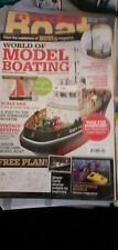 WORLD OF MODEL BOATING, MODEL BOATS SPECIAL EDITION. FREE PLAN INCLUDED