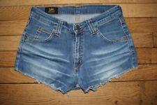 LEEShort en Jeans Femme W 28  Taille Fr 38 (Réf # V-165)