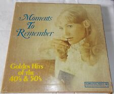 Moments To Remember Golden Hits of the 40's & 50's. Columbia Special Products