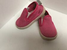 Toddler girl's shoes18 months size 6 SKIDDERS pink pull on F45