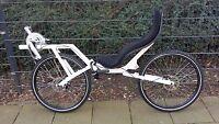 "Recumbent Bicycle ligfiets Recumbent Flevo Bike Racer 26 "" Bikes Disc Brakes"