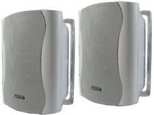 2 wege Monitor Boxen Wandhalterung Lautsprecher Bistro Bar Studio Praxis C50 WS