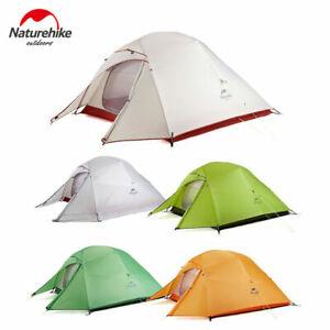 Naturehike Kuppelzelt Cloud Up 1/2/3 Personen Upgrate Ultraleichtes Camping Zelt