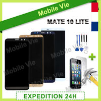 VITRE TACTILE + ECRAN LCD POUR HUAWEI MATE 10 LITE NOIR/BLANC/OR/BLEU + OUTILS