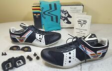 NOS Vittoria 400g Competition Light Road Bicycle Cycling Shoes Cleats SZ 39 US 7