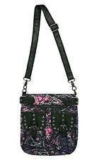 Kinsey Rhea Women's Muddy Girl Pink Purple Crossbody Handbag
