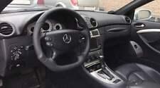 Lederlenkrad Lenkrad passend für Mercedes SL R230 W230 CLK W209 C209 Tuning Teil