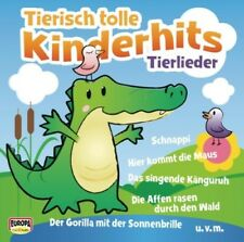 Kinderliederbande - Tierisch Tolle Kinderhits-Tierlieder ZUSTAND SEHR GUT