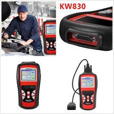 Car Auto OBD2/EOBD OBDII Diagnostic Scan Tool Fault Code Reader KW830 AL519 CAN