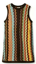 2X MISSONI Target Plus Size Womens Colore Zig Zag Sleeveless Sweater Dress