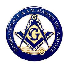 Deluxe International Masons car emblem 3 inch #CD17