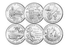 USA: 1/4 dolar x  6 TERRITORIOS D (DENVER)  - QUARTER X 6  D 2009 territories