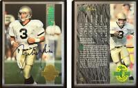 Rick Mirer Signed 1993 Classic Four Sport #92 Card Seattle Seahawks Auto Autogra