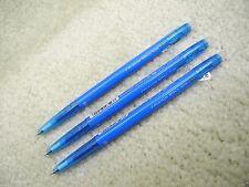 (3 Pens) PILOT Erasable FRIXION ball slim 0.38mm roller pen, Sky Blue (Japan)