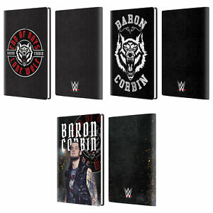 OFFICIAL WWE BARON CORBIN LEATHER PASSPORT HOLDER WALLET COVER CASE