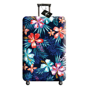 """18""""-32"""" Home Travel Luggage Suitcase Dust Cover Anti Scratch Protector Washable"""