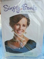 Simply Beads Kit-of-the-Month Club - Christmas Ensemble