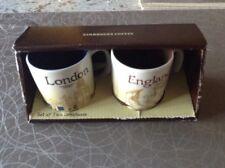 Starbucks LONDON & ENGLAND Demitasse Mug Set Brand NEW In Box
