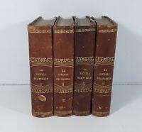 LÉCOLE DU PEUPLE. 4 TOMOS. W. AYGUALS. IMP. DES AYGUELS DE IZCO HNOS. 1852.