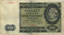 Ro.578 ocupación de polonia 500 Zlotych 1940 (4)