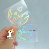 2019 Kpop ARMY Lightstick Laser Sticker SUGA JUNGKOOK Phone Case Stickers