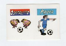 figurina CALCIO FLASH 1988 SCUDETTO OSPITALETTO, PAVIA